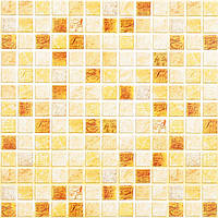 Пластиковая Декоративная Панель ПВХ мозаика ЛУКСОР (955X480) мм