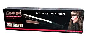Гофре утюжок для волос Gemei GM 2955, фото 2