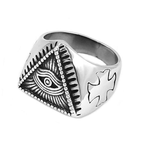 Перстень Око в Трикутнику (Всевидяче око)