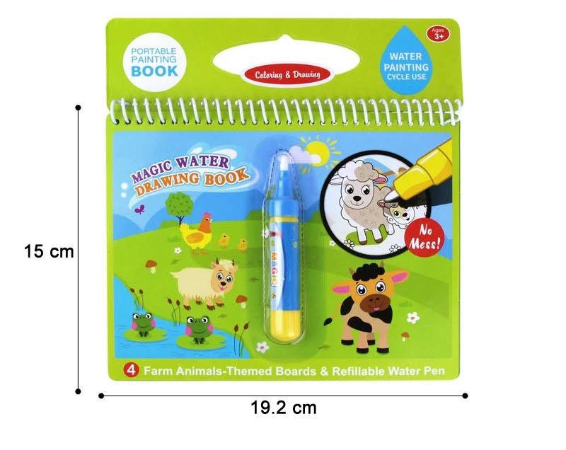 Водная раскраска для детей Magic Water. Животные: продажа ...