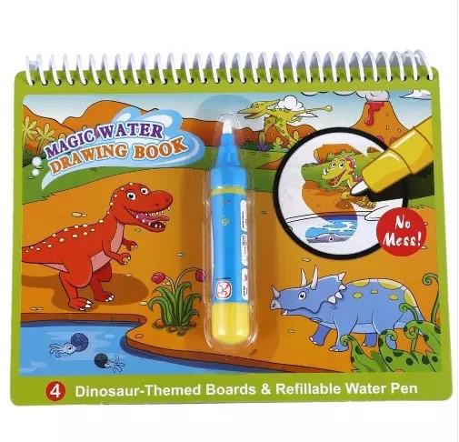 Водная раскраска для детей Magic Water. Динозавры.