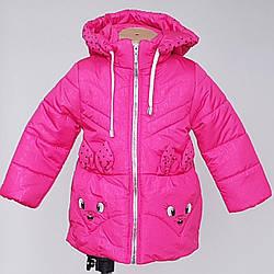 Весенняя курточка для девочки «Зайчик» ( 86-104)