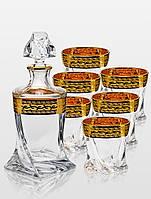 Набор для виски Bohemia Quadro Versace 7 пр.