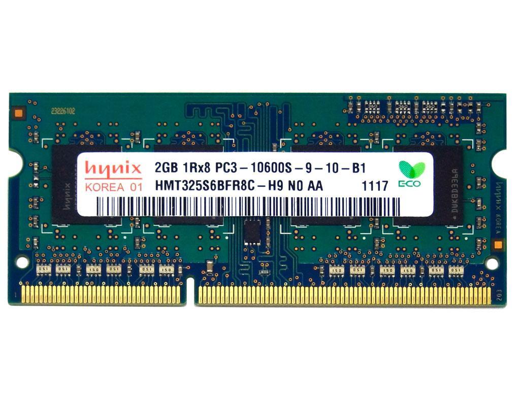 DDR3 2GB 1333 MHz (PC3-10600) SODIMM Hynix HMT325S6BFR8C-H9
