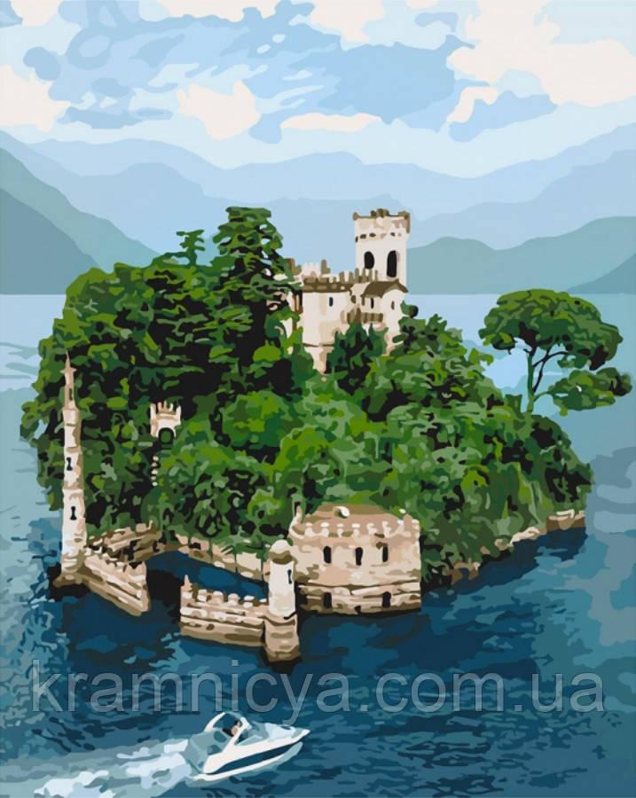Картина по номерам 40x50 Таинственный остров (КНО3564)
