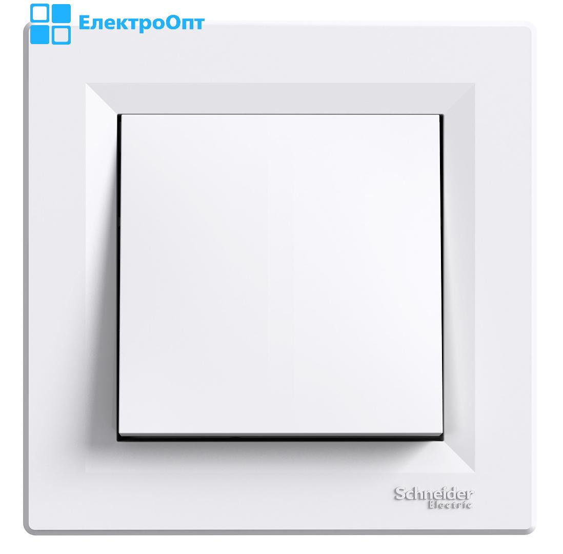 Перехресний перемикач одноклавішний білий EPH0500121 ASFORA Schneider
