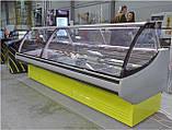 Витрина холодильная JUKA SGL 160 (-2..+5) среднетемпературная, Выкладка 740 мм, фото 7
