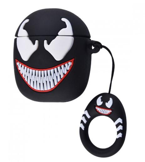 Силиконовый чехол для наушников AirPods Emoji Venom
