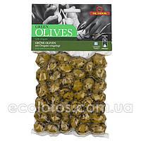 """Оливки зеленые с орегано """"ILIDA"""" 250 г"""