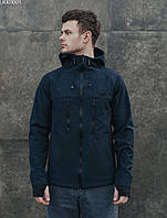 Куртка Staff soft shell navy. [Размеры в наличии: XS,S,M,L,XL,XXL]