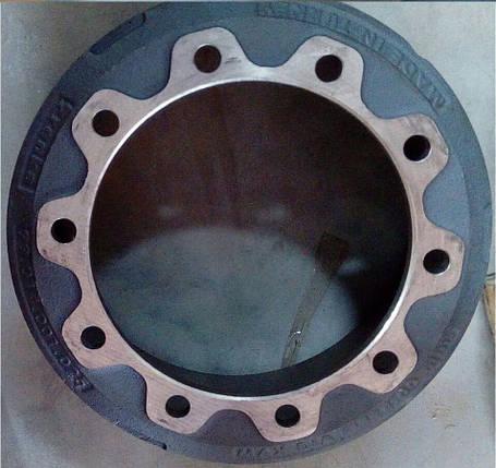 Барабан тормозной  тормозной BPW 0310967190  (под забивную шпильку), фото 2