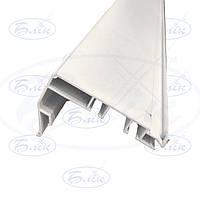 Алюминиевый профиль для натяжных потолков  Гардина на две полосы