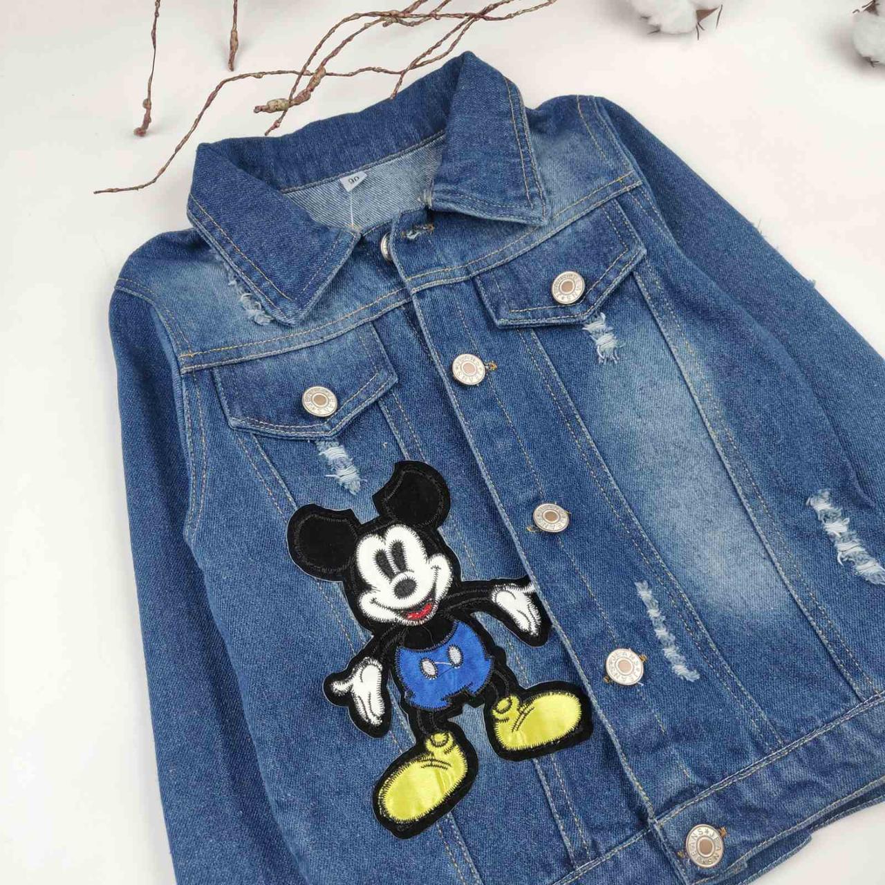 Куртка джинсовая детская 80, 90, 100