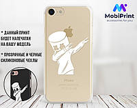 Силиконовый чехол для Samsung N950 Galaxy Note 8 Marshmello (Маршмеллоу)  (28215-3332)
