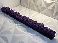 Вазон кашпо з стабілізованою мохом ручної роботи