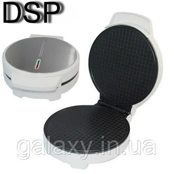 Вафельница DSP круглая 180мм для тонких вафель 1000 Вт KC1144
