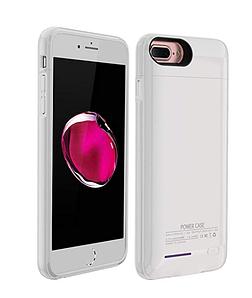 Внешний аккумулятор Power Bank - Чехол Battery Case iPhone 7+/8+ 4200mAh Белый