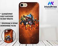 Силиконовый чехол для Meizu M2 Мстители (Avengers) (13014-3405)