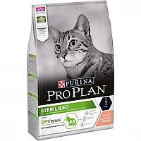 Purina Pro Plan Sterilised Adult Сухой корм для стерилизованных кошек. С лососем 10 кг