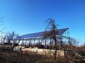 Готова сонячна електростанція.