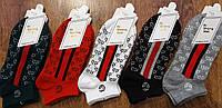 """Женские стрейчевые короткие носки в стиле """"GUCCI K"""" Турция 36-41, фото 1"""