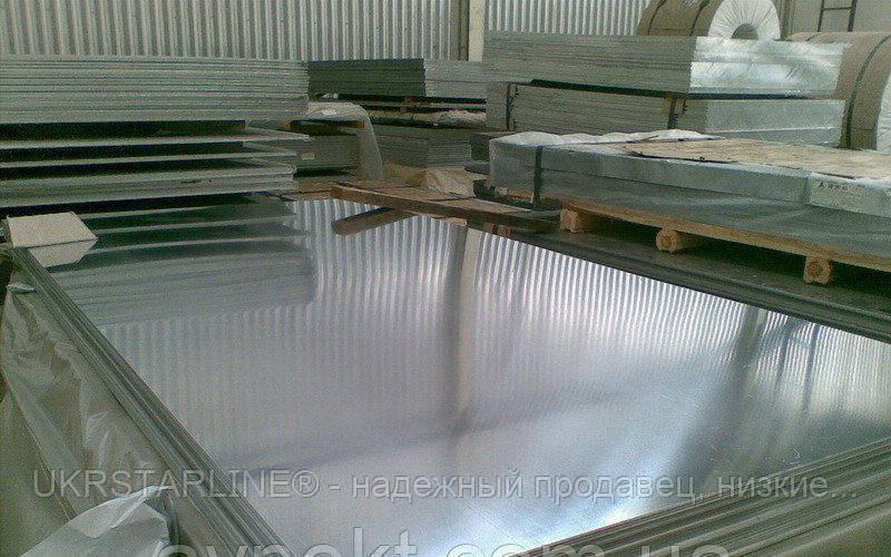 Лист алюминиевый АМГ5 Н 4х1500х3000 мм аналог (5754)
