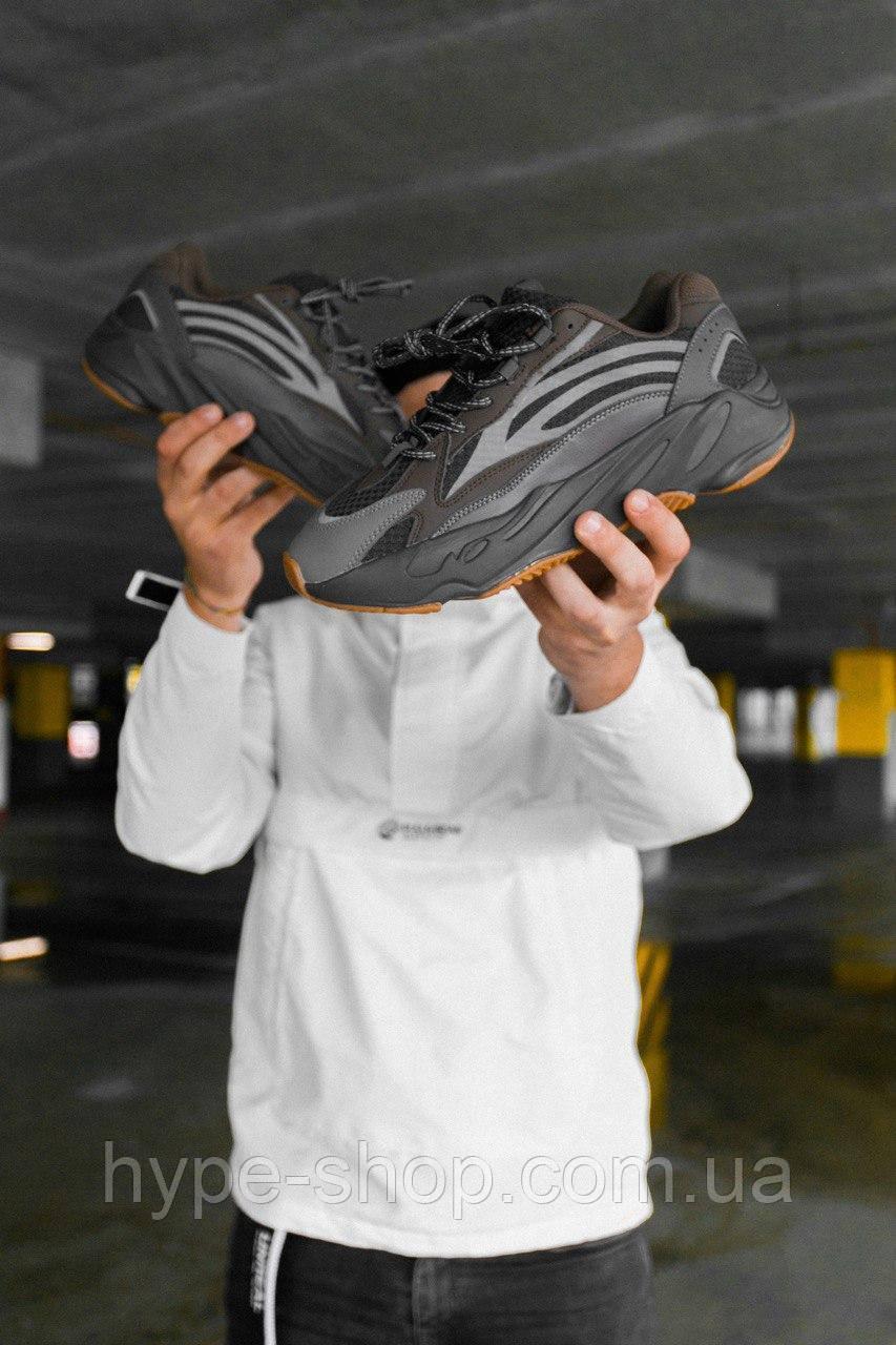 Чоловічі Кросівки в стилі Adidas Yeezy Boost 700 v2 Рефлективні вставки