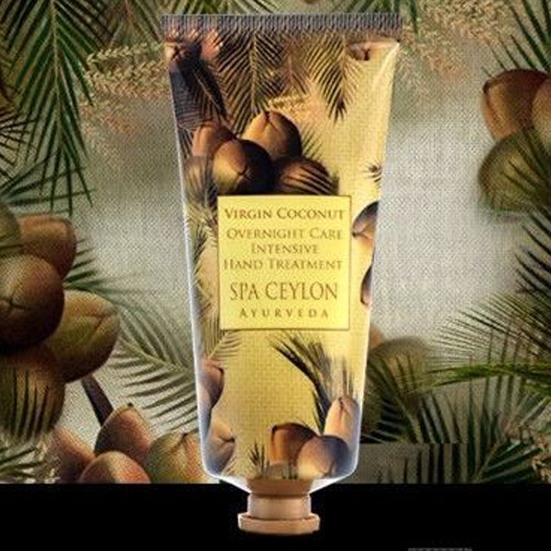 Крем для рук Королевский кокос – Ночной уход. Интенсивное лечение рук