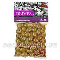 """Оливки зеленые пикантные """"ILIDA"""" 250 г"""