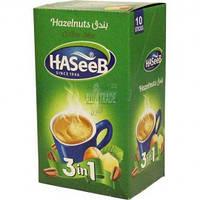 Кофе Haseeb 3 в 1 со вкусом лесного ореха 10шт.