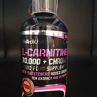 L-Carnitine 70.000 mg + Chrome BioTech USA 500 мл