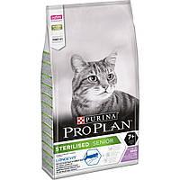 Purina Pro Plan Sterilised 7+ (Пурина Про План) Для стерилизованных кошек старше 7 лет. С индейкой 10 кг