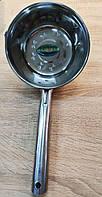 Ковш-черпак с ручкой,  из нержавеющей стали, диаметр 18см