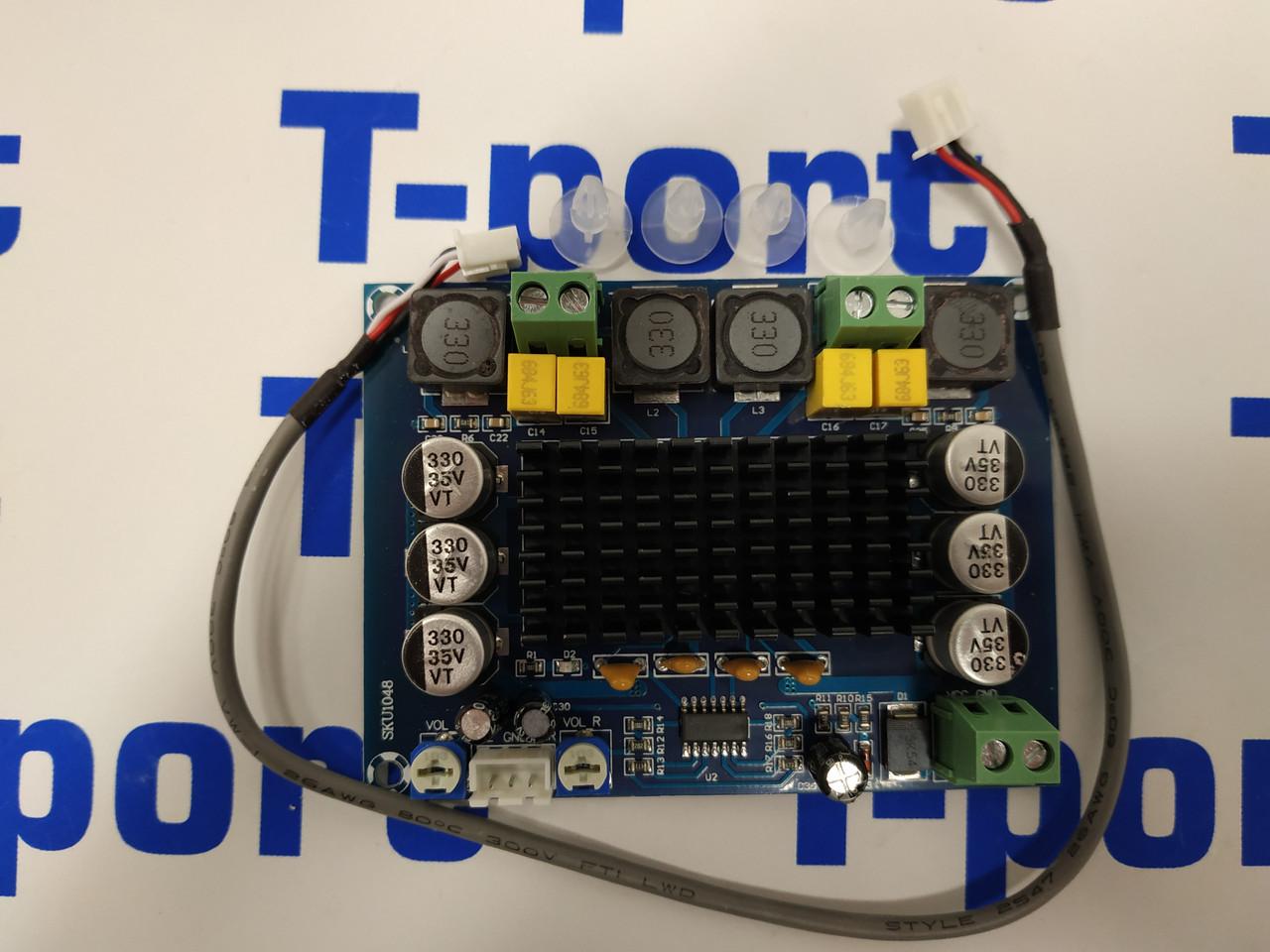 Цифровой усилитель на TPA3116D 2x120W
