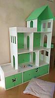 Детский игровой домик для кукол из безопасных материалов