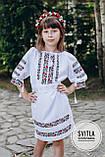 """Вишите плаття для дівчинки """"Дрібні квіти"""", фото 2"""