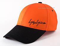 Яркая бейсболка из коттона Автограф оранжевая