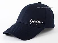 Темно-синяя бейсболка Автограф