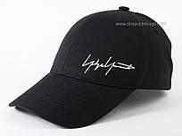 Бейсболка унисекс из коттона Автограф черная с белым