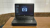 """Робоча станція HP ZBook 15, 15.6"""" FHD, i7-4810MQ, 16GB, 256GB SSD, NVIDIA K1100M 2GB. Перерахунок, готівка"""