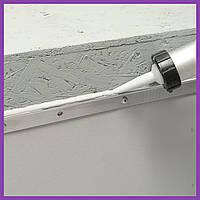 Герметик для крыши Baugum Super Adhesive 600 мл белый полиуретановый, герметик ПУ