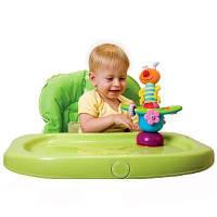 Развивающая игрушка Цветочная карусель бабочка и гусеничка