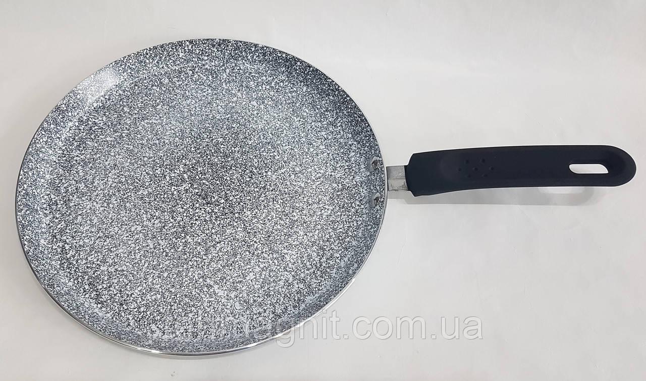 Сковорода для блинов  UNIQUE UN-5414 гранит/индукция  26 см