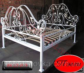 """Кованая двуспальная  кровать """"Пегги"""""""