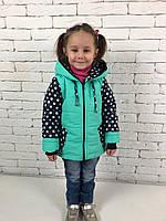 Куртка весна осень для девочки 6021