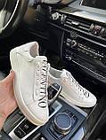 Кеды женские белые в стиле Valentino, фото 2