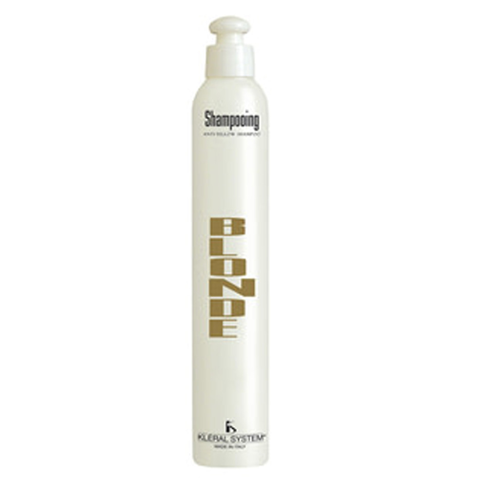 Шампунь для волос Kleral System Bleaching Blonde Anti-Yellow Shampoo 1000 мл