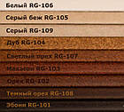 Пробковый порожек компенсатор Черный 900х15х7мм RG 101, фото 5