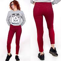 Жіночі джинси Skynni Slim AROX Бордо