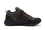 Мужские кожаные кроссовки Adidas Terrex Green (реплика), фото 3
